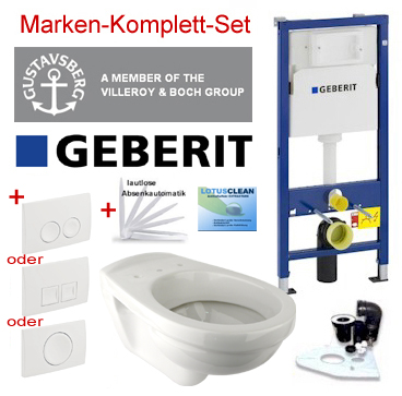geberit duofix vorwandelement wand wc set design wc dr ckerpaltte uvm ebay. Black Bedroom Furniture Sets. Home Design Ideas
